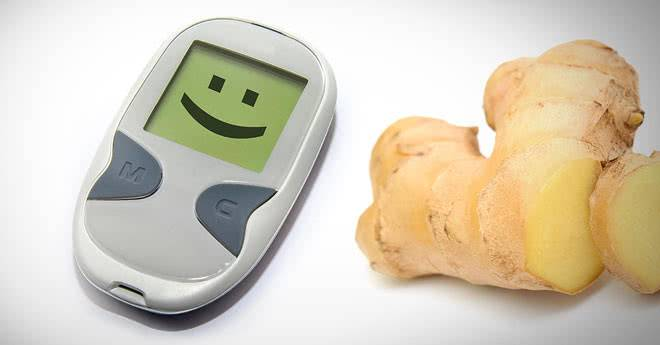 Имбирь при сахарном диабете