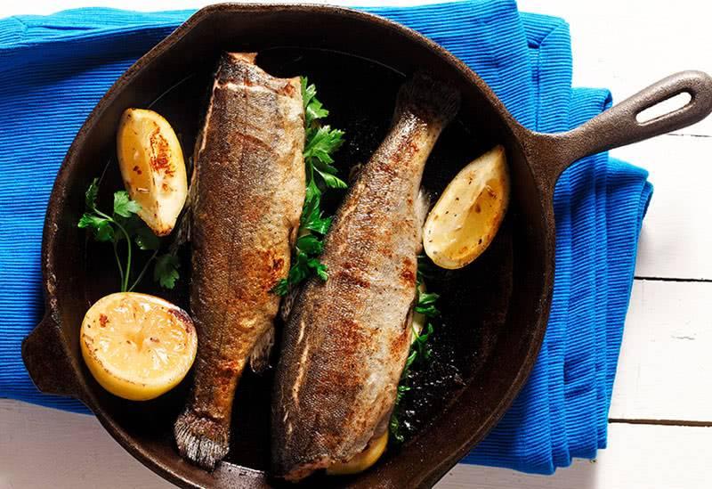 Жареная рыба диабетикам